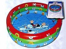 Bazén Krtek velký dětský nafukovací 122 x 20 cm