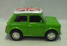 Auto Mr.Bean kovový sběratelský model zvukový s...