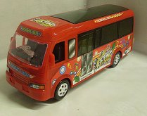 .Autobus svítící narážecí zvukov...