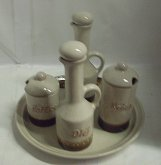 Dochucovací souprava Kunštátská keramika stolní...