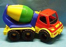 Auto stavební automíchač plastový
