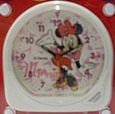 Budík Minnie bílý Disney