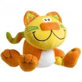 Plyšová kočička Bunch s chrastítkem uvnitř Playgro