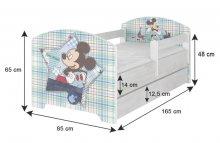 BabyBoo Dětská postel Disney, 16...