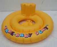 Baby kruh žlutý nafukovací pro n...