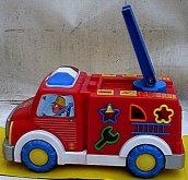 Auto požární barevné edukační naučné svítící zv...