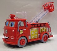 Auto Ruda hasičské se světlem a ...