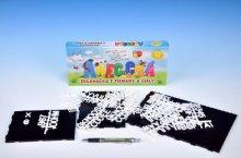 Abeceda Skládačka s písmenky a čísly plast v kr...