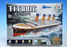3D Puzzle Titanic loď 113 dílků