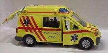 Auto kovové Ambulance Sanitka zv...