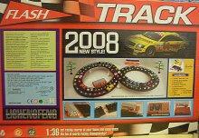Autodráha Track flash svítící dr...