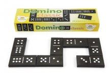 Domino plastové velké černé kame...