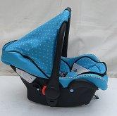 Autosedačka Monte Bledě modrá od 0 do 13 kg