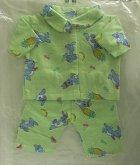 Pyžamo pro panenku miminko 50 cm velké kabátek ...