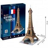 3D Papírový model Eiffelova věž stavebnice