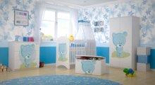 BabyBoo Dětská skříň - Medvídek ...