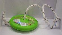 Dětská houpačka kruh plastový na provaze