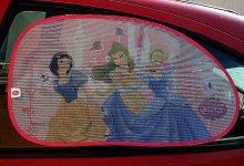 Sluneční clona do auta Disney princezny dva kus...