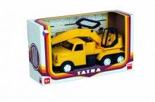 Bagr nákladní auto na písek Tatr...