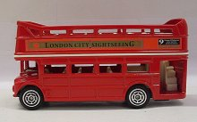 Autobus patrový s otevřenou střechou London tou...