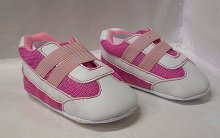 Botičky dětské protiskluzové ťapky růžovo bílé
