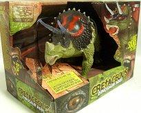 Triceratops Dinosaurus chodící z...