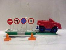 Dopravní značky Nauč se značky autoškola pro děti