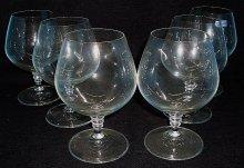 Brandy sklenice Crystalex sada 6 kusů čiré na n...