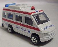 Auto kovové Sanitka Ambulance mo...