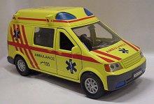 Auto kovové Ambulance Sanitka zvuková se světlem