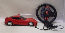 Auto RC Ferrari 1:18 závodní model s VOLANTEM č...