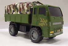 Armádní nákladní vojenské auto s...