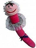 Žížala Julie plyšová maňásek originál od Dády P...
