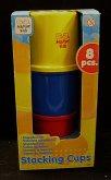 Aktivní kelímky barevní Happy kid 8 ks