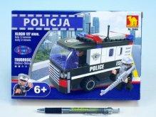 Stavebnice Policie Auto Dodávka 23404 127ks v k...