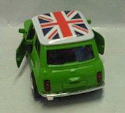 Auto Mr.Bean kovový sběratelský ...