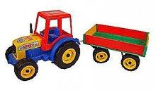 Traktor MAXI s vlečkou