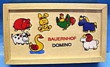 Domino dřevěné domácí farma kravička, ovečka, k...