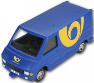 Auto dodávka Renault Trafic Česká pošta 1:35