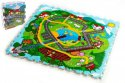 Pěnové puzzle Město Moje první zvířátka 30x30x1,2cm 9ks MPZ jako koberec
