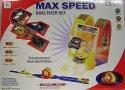 Dráha vystřelovací Max nano Speed Dual Flyer Set 2 autíčka