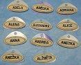 Jmenovka Dívčí jména od A textilní Adela, Adélka, Adriana, Alena , Alexandra, Alice, Anna, Andrea, A