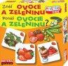 Znáš ovoce a zeleninu? - česká paměťová hra