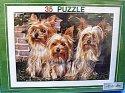 Puzzle 3 Pejsci 35 dílků papírové