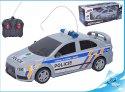 R/C české policejní auto na dálkové ovládání policie ČR 21 cm 27MHz