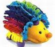 Ježek Fisher price Ježek hračka pro nejmenší barevný pískací plyšový