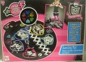 Taneční koberec svítící hrací podložka Monster High kulatá elektronická hra na baterie