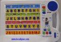 Vzdělávací multifunkční tabulka abeceda mluvící naučná elektronická