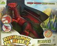 Dinosaur Planet Dragon červený zvukový svítící chodící drak plastový