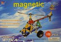 Magnetic Geomag Helikoptéra 108 dílků Akce